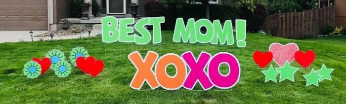mothers day yard card